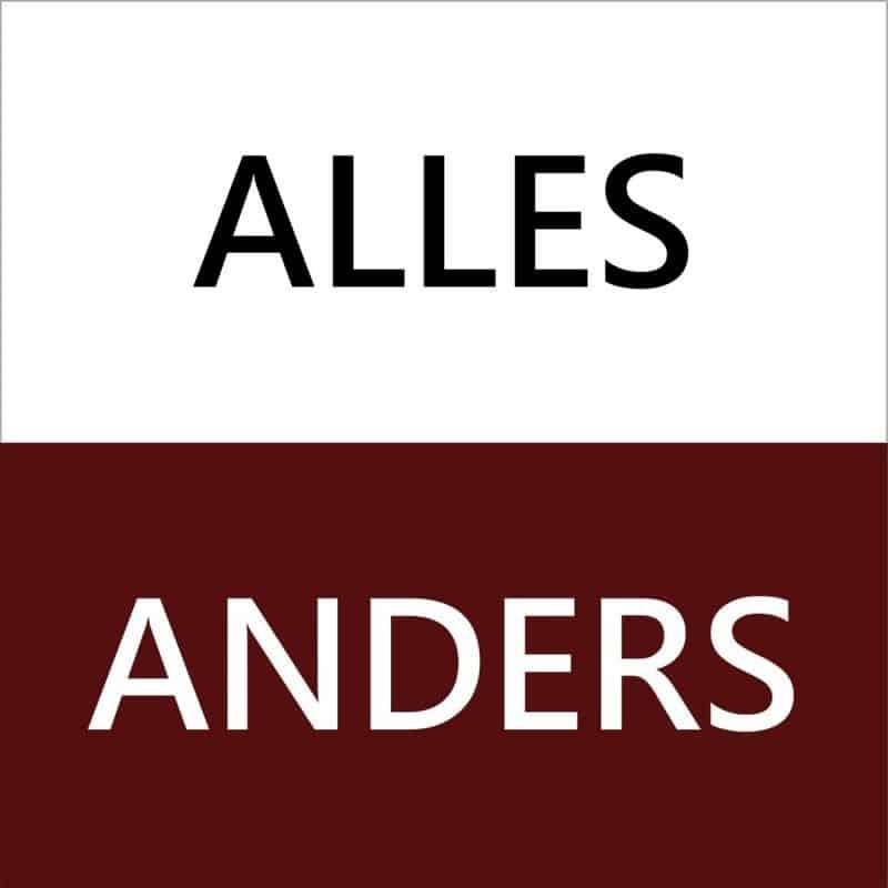 ALLES ANDERS
