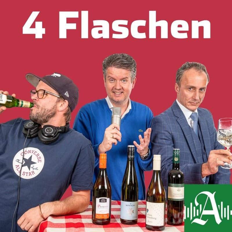 Vier Flaschen, der Weinpodcast des Hamburger Abendblatts